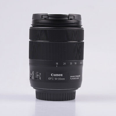 Canon EF-S 18-135mm f/3.5-5.6 IS USM Lens White Box New