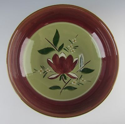 "Stangl Pottery MAGNOLIA 9"" Round Vegetable Bowl EXCELLENT"