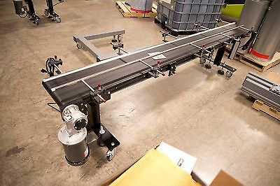"12"" Wide x 6' Long Low Profile Belt Conveyor - RL Craig - Brand New"