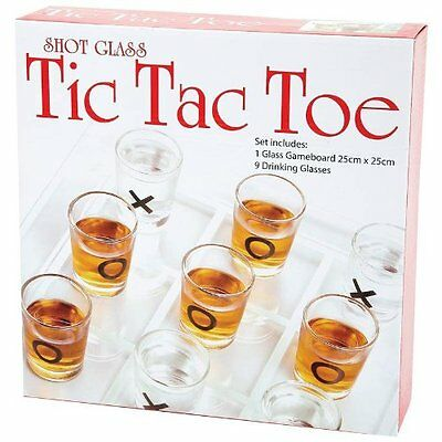 Glass Game Shot Tic Tac Toe Maxam Board Drinking Adults Original Game Bar