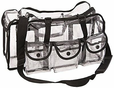 NEW Casemetic Large Carry Clear Set Bag with 6 External Pockets FREE SHIPPING