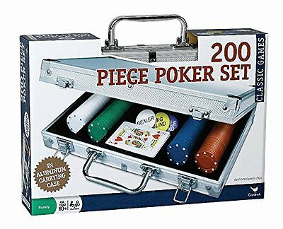 NEW 200 pc Poker Set In Aluminum Case FREE SHIPPING