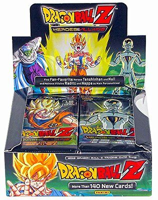 NEW Dragon Ball Z Collectible Card Game Heroes & Villains Booster Box