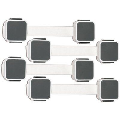 NEW Munchkin XTRAGUARD 4 Count Dual Action Multi Use Latches FREE SHIPPING