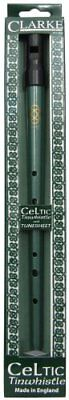 NEW Clarke CWD Celtic Tin Whistle Key of D FREE SHIPPING