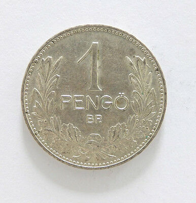 1937 Hungary Admiral Horty One Pengo  (5649)