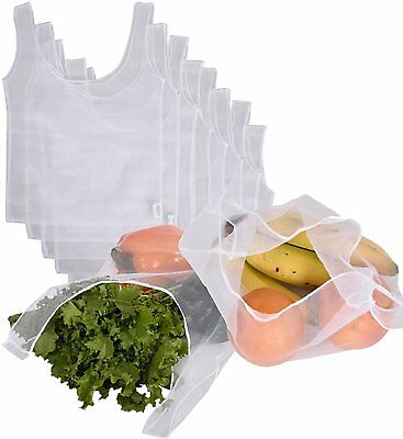CWC Reusable Recycled Mesh Grocery & Produce Bag 8 Bag by PLANETE (H0969_S2) CXX