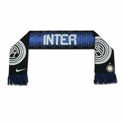 Nike Inter Milan Official Scarf Football Soccer Internazionale Serie A