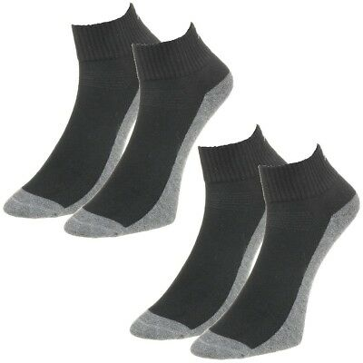 2 Paar Performance Quarter SMU Puma Golf Sport Quarters Golfsocken Coolmax black