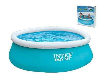 Intex Easy Set 183 cm Swimming Pool Schwimmbecken Quick-Up Schwimmbad