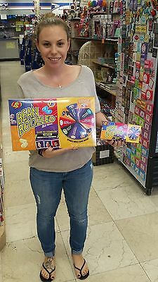 GIANT BEAN BOOZLED SPINNER GAME 12.6oz, HUGE!!! FAST SHIPPING!! VERY RARE!!!