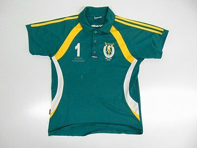 2009 2010 O'Neills Ireland green polo home shirt jersey rare old lacrosse #1