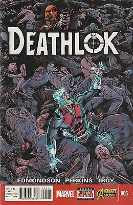 Deathlok (2014) #5 VF/NM Marvel Comics