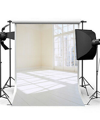 Photo Background for Baby Photo Studio Vinyl 5x7FT White Photography Backdrops