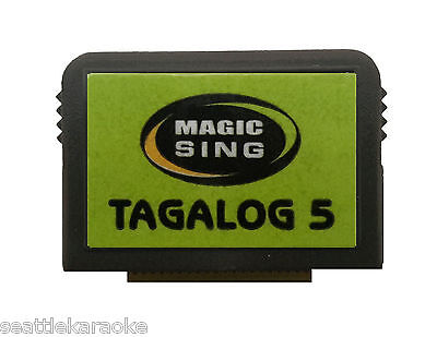 Magic Sing EnterTech Song Chip Tagalog #05 - 499 Songs