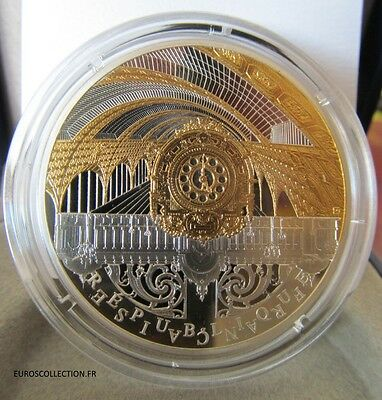 10 € Euro Be/pp Or Argent Paris Orsay Invalides Seine River 2016 Pack Complet !
