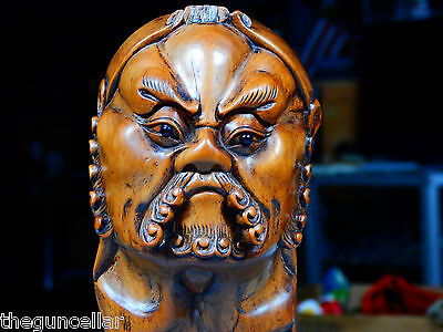 Important Antique Japanese Wood Carving, Statue, Museum Quality, Edo Period?