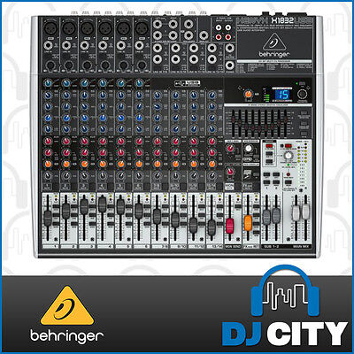 Behringer XENYX X1832USB 18-Channel Live Sound Mixer Board w/ USB & FX EQ