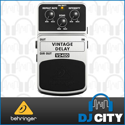 Behringer Vintage Analog Delay Effects Pedal VD400 *NEW*