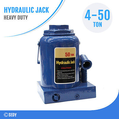 Hydraulic Bottle Jack 4 8 10 20 32 50 Ton Car Truck Caravan 4WD House