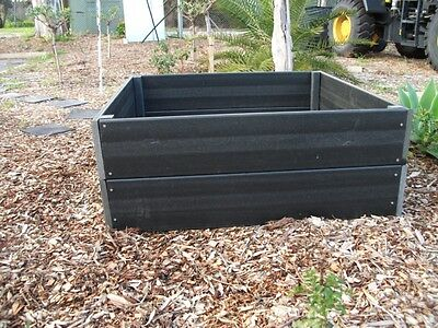 NEW Raised Garden Bed Kit-Recycled / Envrionmental / Sustainable / Longlife