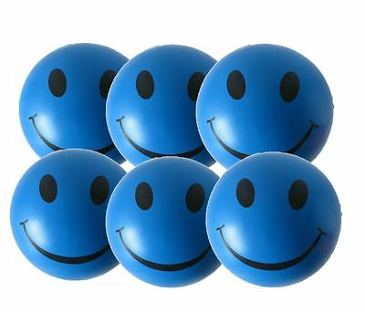6 x Blue Stress Balls by StressCHECK - Relief from ADHD, Autism, SEN & PTSD