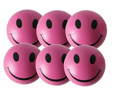 6 x Pink Stress Balls by StressCHECK - Relief from ADHD, Autism, SEN & PTSD
