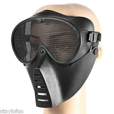 Full Face Military Tactical Mask Combat for Airsoft Paintball Outdoor