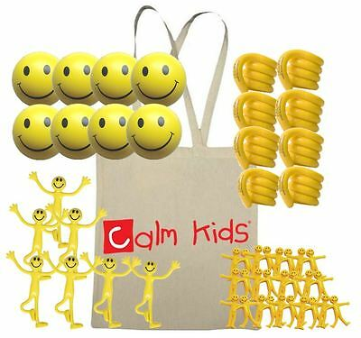 Calm Kids 50 Piece Pack - Relief from Stress, ADHD, Autism, SEN & PTSD