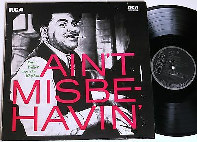 Fats Waller Ain´t Misbehavin´ Rca Lp Mint-
