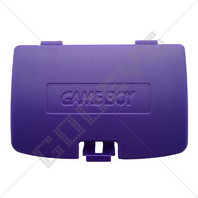 Grape (Purple) Nintendo Game Boy Color New Replacement Battery Door Cover GBC