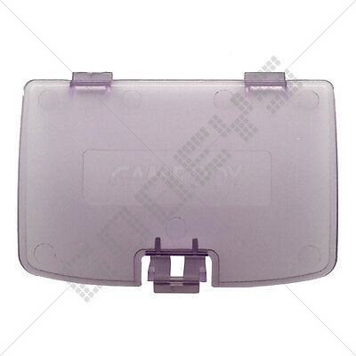 Atomic Purple (Clear) Nintendo Game Boy Color New Replacement Battery Door Cover