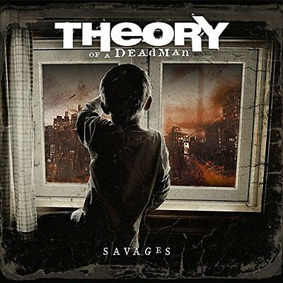 Theory Of A Deadman Cd - Savages [Explicit](2014) - New Unopened - Rock Metal