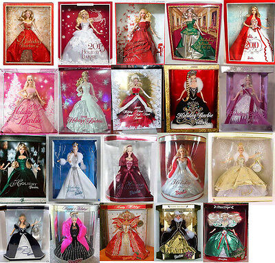 1989-2014 Holiday Barbie Collection