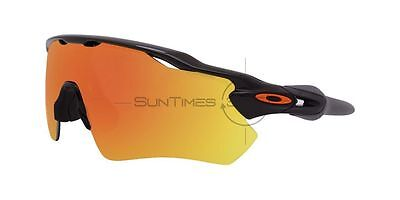 OAKLEY RADAR EV PATH TEAM COLORS OO9208-19 Polished Black / Fire Iridium