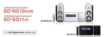 Sharp SD NX10 1 Bit CD MiniDisc Player/Recorder