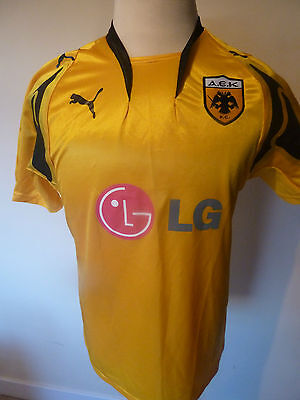 mens AEK Athens shirt - size L great condition