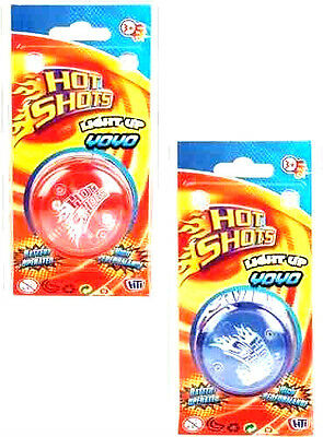 Hot Shots Light Up YoYo Kids Toy With Trick Clutch Mechanism Speed Auto Return