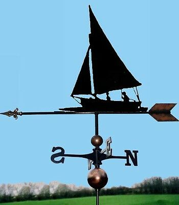 Sailing Boat Weathervane - Handmade  - Very High Quality