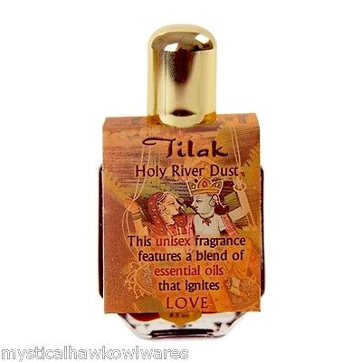 Love - Tilak Attar Oil - Vanilla, Almond, Saffron .5oz