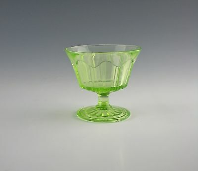 Anchor-Hocking COLONIAL-GREEN Champagne/Tall Sherbet(s)  EX