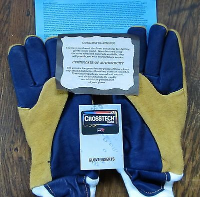 NEW CrossTECH Glove Inserts KANGAROO LEATHER PALMS,Size XXL See Photos