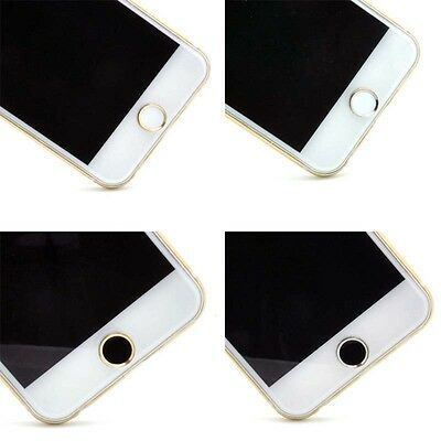 Cool Style Aluminium Metal Home button Stickers For Apple iPhone6/6p 5/5s Ipad
