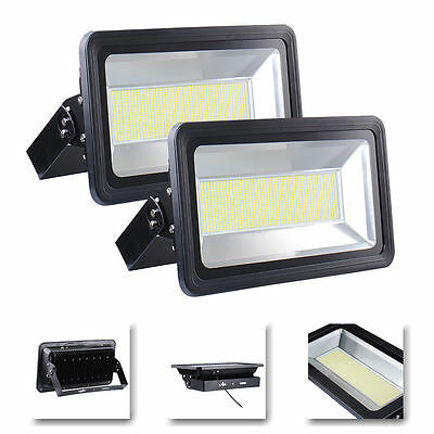 2x 500W Warm White LED Outdoor SMD Flood Light Lamp High Power Floodlight 240V
