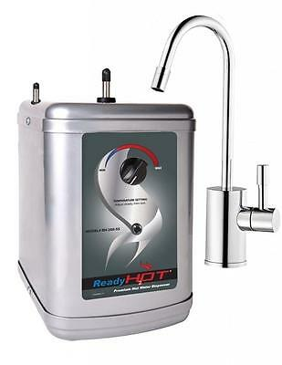 Stainless Steel Hot Water Dispenser System-Includes Chrome Single Lever Faucet