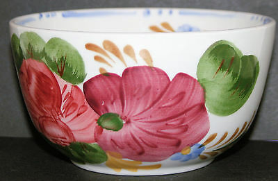 Bowl  Chanticleer Belle Fiore Simpsons, Cobridge Hand Painted, 12 cm across
