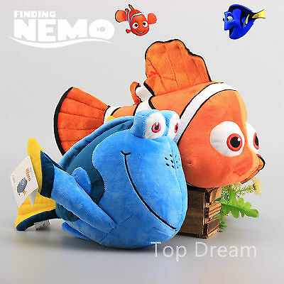 Finding Nemo Characters Nemo Dory Soft Plush Toys Large Cuddly Doll 15'' Teddy