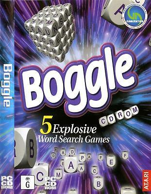 Boggle Word Search PC Game for Young Children Alphabet Spelling 5 Games in One
