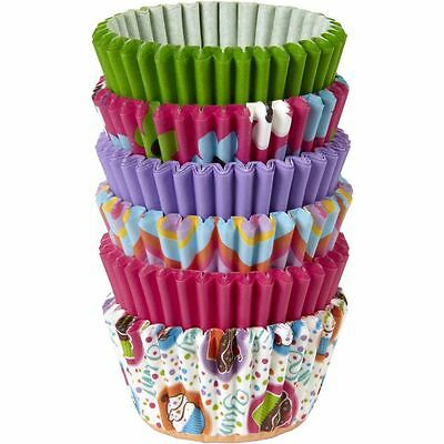 Wilton Multi-Colour Mini Cupcake Cases 150 Pack Muffins Treats Baking Display