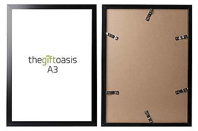 A3 Picture Frame Aluminium Black Photo Poster Image Display